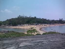 Guarapari, ES – Beira mar na Praia de Setiba